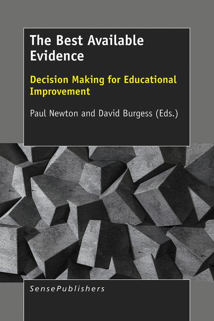 Cover of 'The Best Available Evidence'