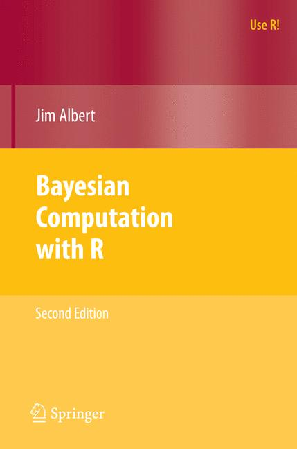 Cover of 'Bayesian Computation with R'