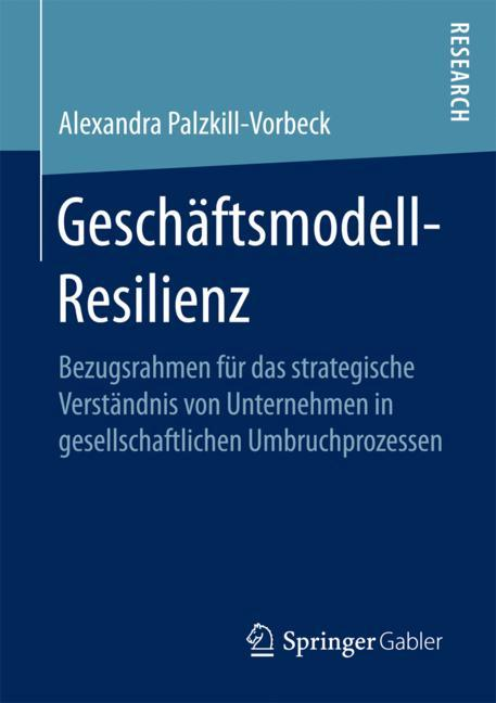 Cover of 'Geschäftsmodell-Resilienz'