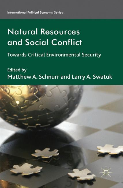 Cover of 'Natural Resources and Social Conflict'