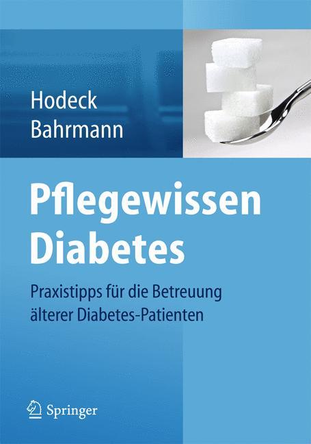Cover of 'Pflegewissen Diabetes'