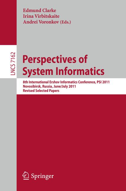Cover of 'Perspectives of Systems Informatics'