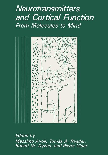 Cover of 'Neurotransmitters and Cortical Function'