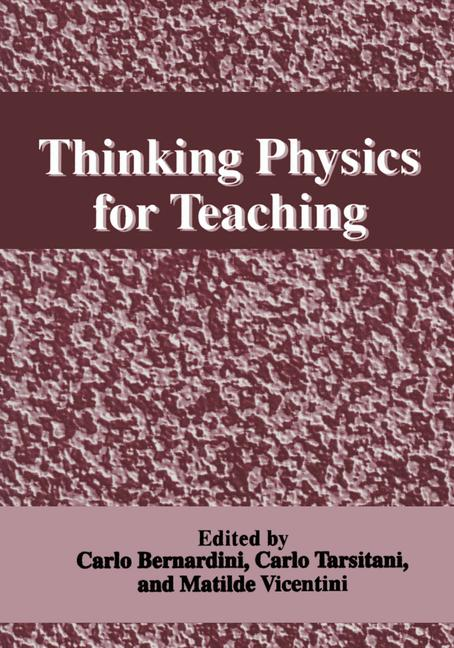 Cover of 'Thinking Physics for Teaching'