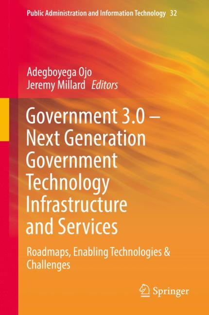 Cover of 'Government 3.0 – Next Generation Government Technology Infrastructure and Services'