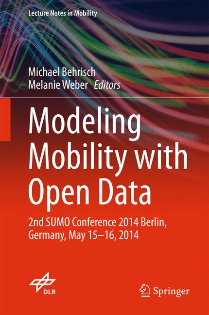 Cover of 'Modeling Mobility with Open Data'