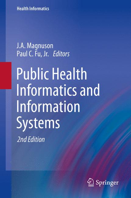 Cover of 'Public Health Informatics and Information Systems'