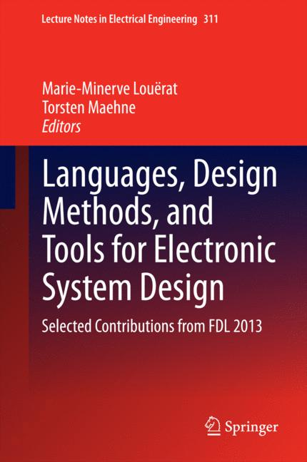 Cover of 'Languages, Design Methods, and Tools for Electronic System Design'