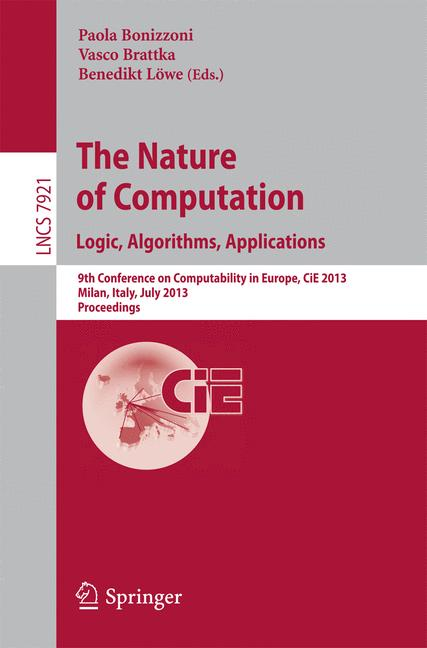 Cover of 'The Nature of Computation. Logic, Algorithms, Applications'