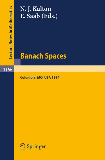 Cover of 'Banach Spaces'