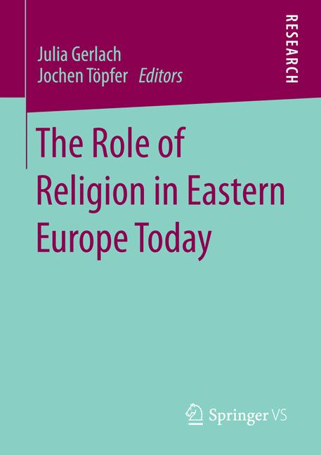 Cover of 'The Role of Religion in Eastern Europe Today'