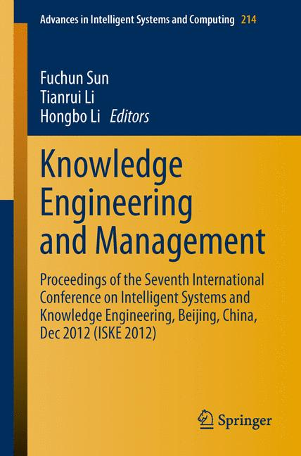 Cover of 'Knowledge Engineering and Management'