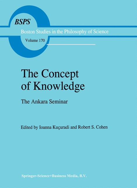 Cover of 'The Concept of Knowledge'