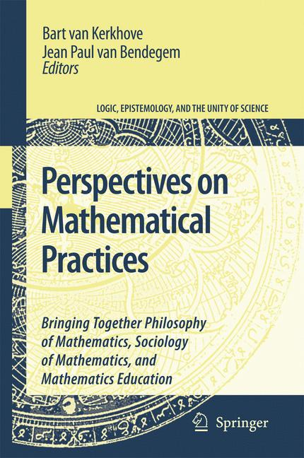 Cover of 'Perspectives On Mathematical Practices'