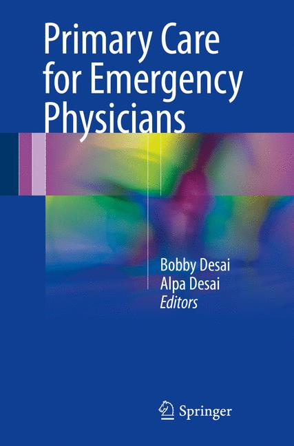 Cover of 'Primary Care for Emergency Physicians'