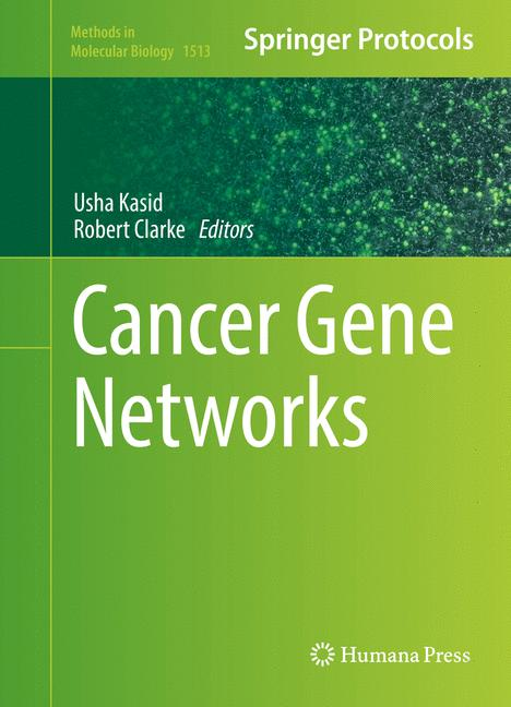 Cover of 'Cancer Gene Networks'