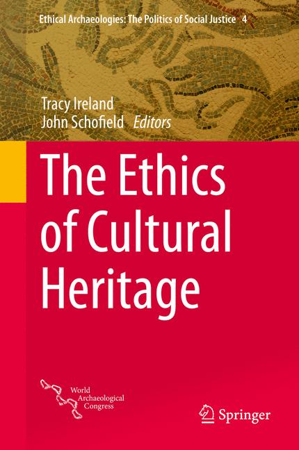 Cover of 'The Ethics of Cultural Heritage'