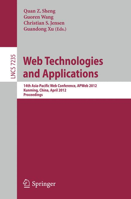 Cover of 'Web Technologies and Applications'