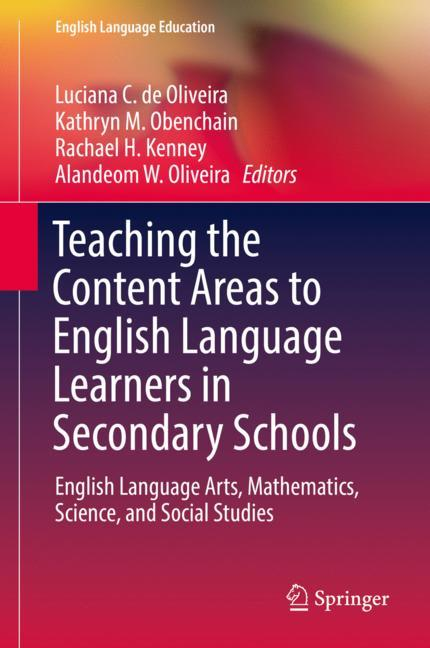 Cover of 'Teaching the Content Areas to English Language Learners in Secondary Schools'