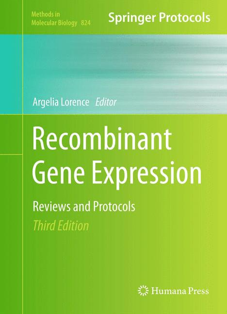 Cover of 'Recombinant Gene Expression'
