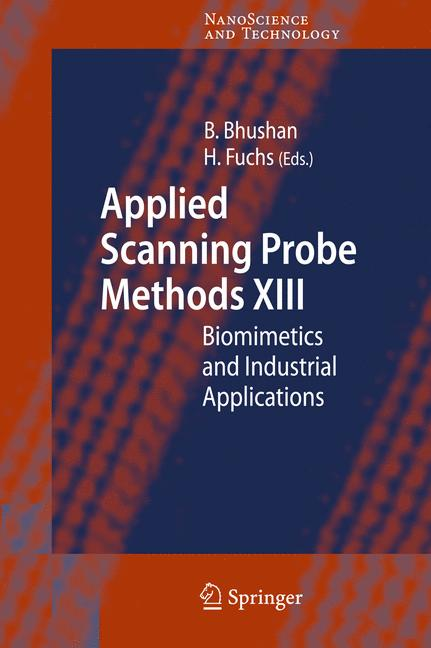 Cover of 'Applied Scanning Probe Methods XIII'