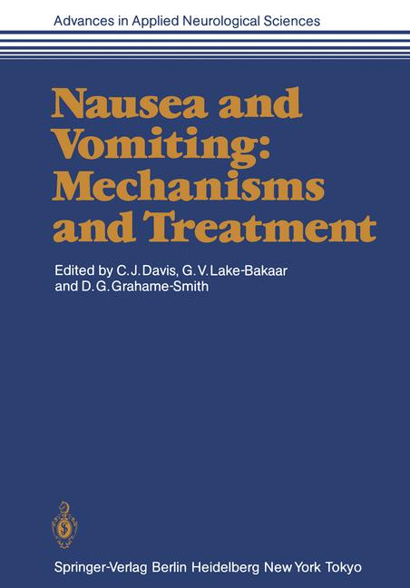 Cover of 'Nausea and Vomiting: Mechanisms and Treatment'