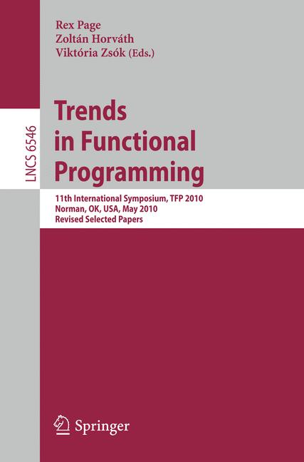 Cover of 'Trends in Functional Programming'