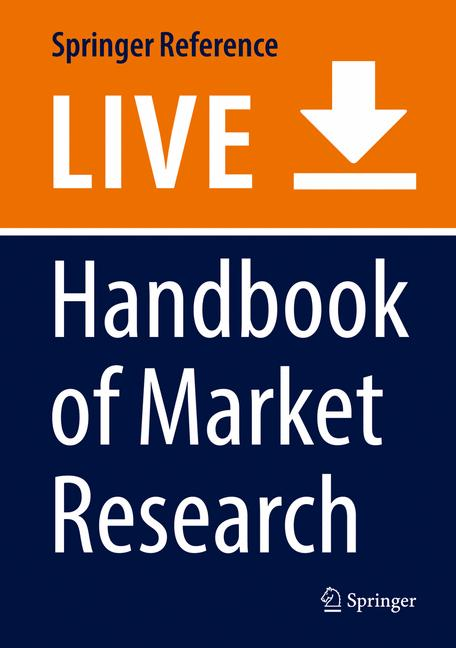 Cover of 'Handbook of Market Research'