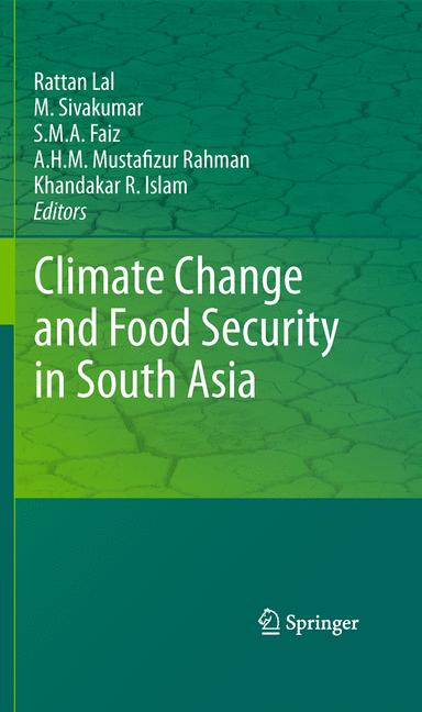 Cover of 'Climate Change and Food Security in South Asia'