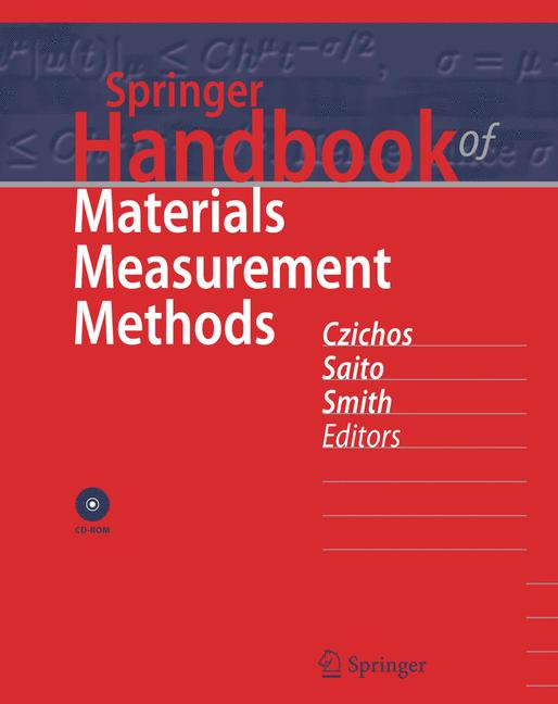 Cover of 'Springer Handbook of Materials Measurement Methods'