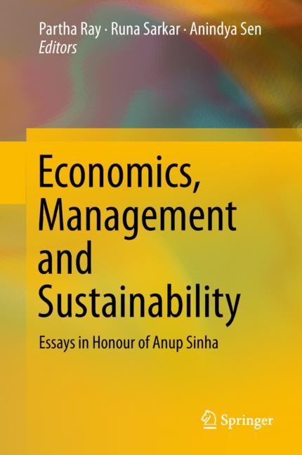 Cover of 'Economics, Management and Sustainability'