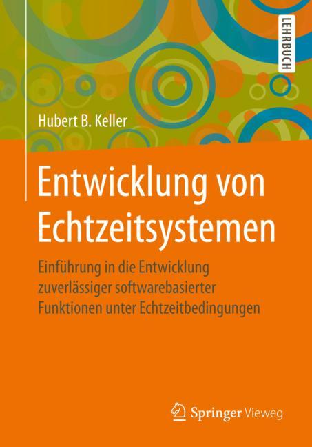 Cover of 'Entwicklung von Echtzeitsystemen'