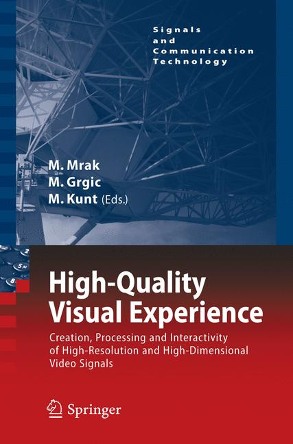 Cover of 'High-Quality Visual Experience'