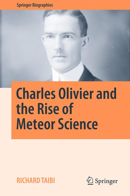 Cover of 'Charles Olivier and the Rise of Meteor Science'