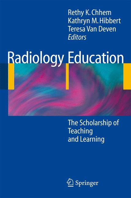 Cover of 'Radiology Education'