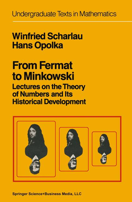 Cover of 'From Fermat to Minkowski'
