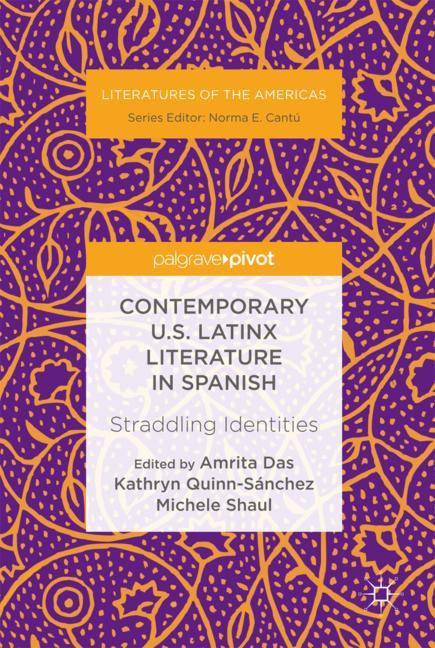 Cover of 'Contemporary U.S. Latinx Literature in Spanish'