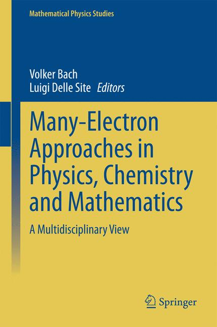 Cover of 'Many-Electron Approaches in Physics, Chemistry and Mathematics'