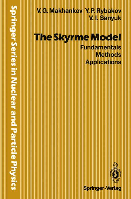 Cover of 'The Skyrme Model'