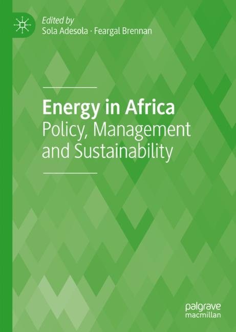 Cover of 'Energy in Africa'
