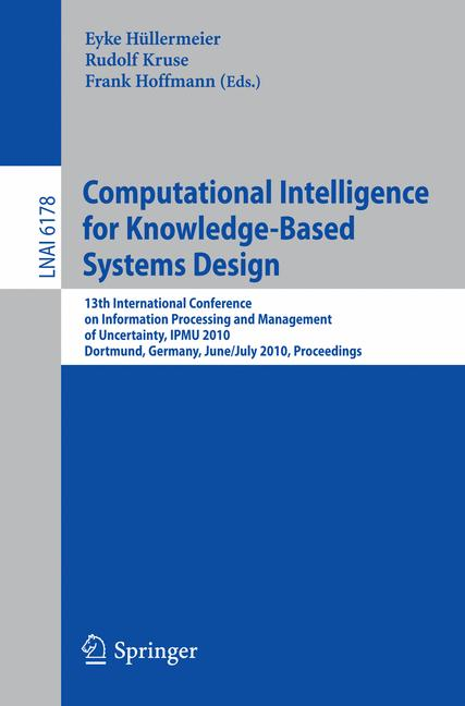 Cover of 'Computational Intelligence for Knowledge-Based Systems Design'