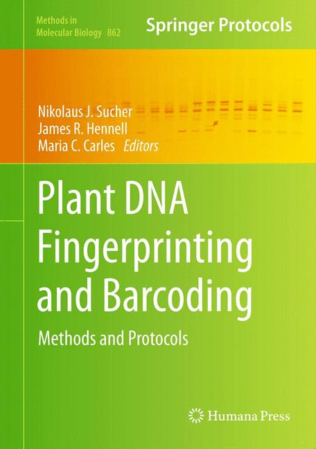 Cover of 'Plant DNA Fingerprinting and Barcoding'