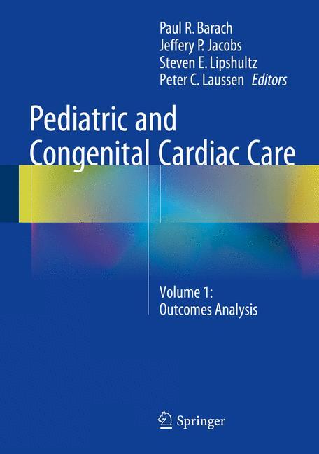 Cover of 'Pediatric and Congenital Cardiac Care'