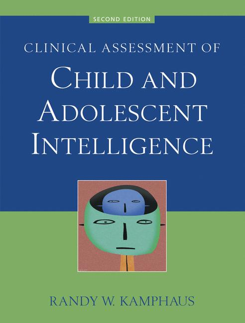 Cover of 'Clinical Assessment of Child and Adolescent Intelligence'