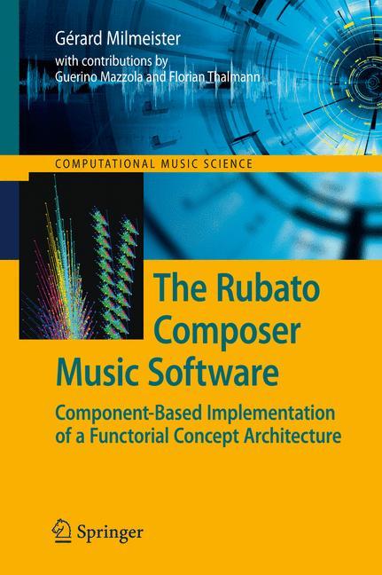 Cover of 'The Rubato Composer Music Software'