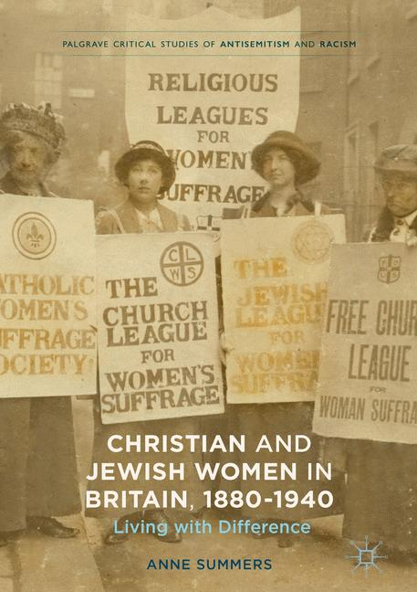 Cover of 'Christian and Jewish Women in Britain, 1880-1940'