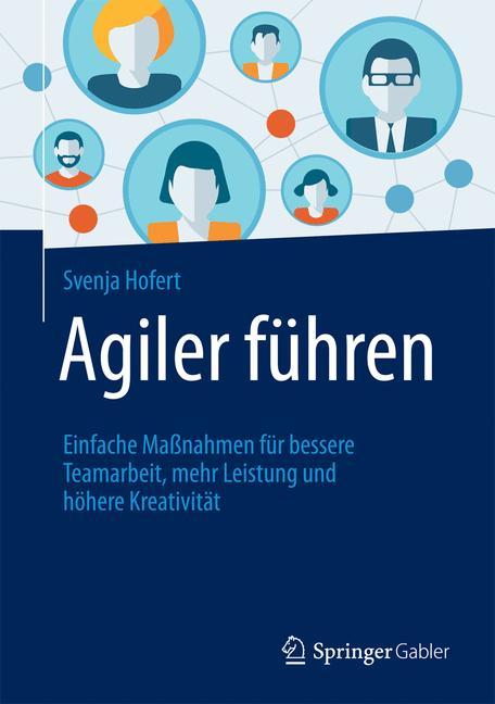 Cover of 'Agiler führen'