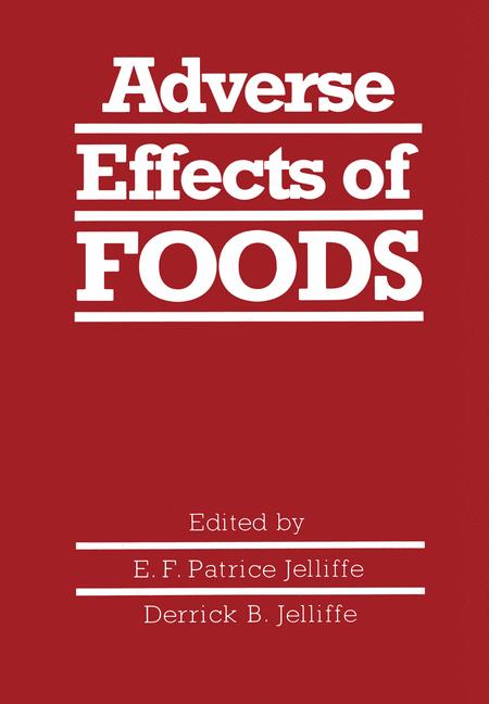 Cover of 'Adverse Effects of Foods'