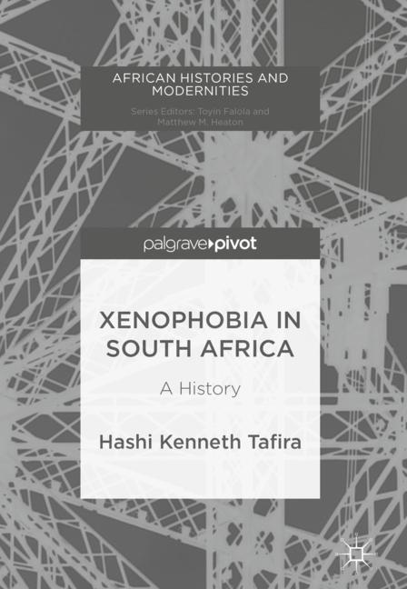 Cover of 'Xenophobia in South Africa'
