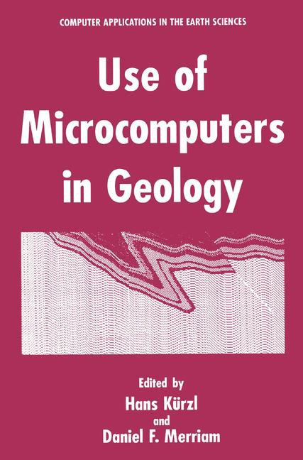 Cover of 'Use of Microcomputers in Geology'